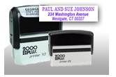 coustimized address stamp