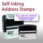 self inking address stamp
