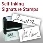 Signature stamp....@