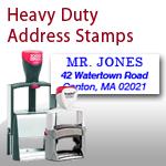 Heavy Duty Address Stamp