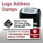 Logo address stamp